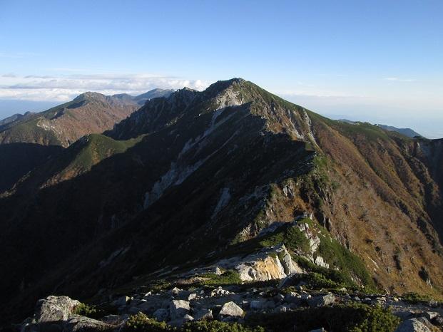 山行の報告(2015年10月)